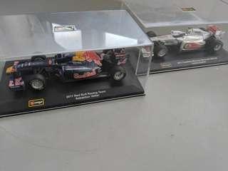 🚚 F1 red bull and mclaren car models