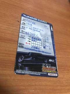 Midnight Maximum Tune 3 Tuning card