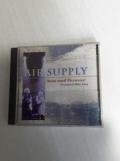Air Supply <Now And Forever Greatest Hits Live> CD