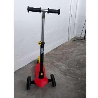 Kids  3-Wheeler scooter