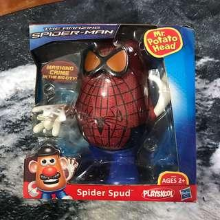 蜘蛛人 Spider-Man 蛋頭先生   Mr Potato Head disney toy story