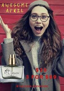 D'calysta Exclusive Perfume (solat friendly edp)