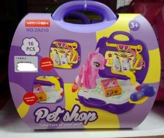 🚚 全新 寵物美容手提箱玩具 喜歡家家酒的可參考