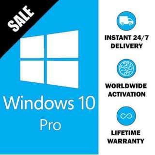 Genuine Windows 10 license