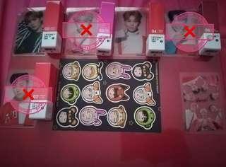 Monsta X TonyMoly lip tints sets