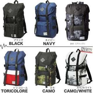 (((熱賣現貨$268包順豐自取))) (6色) 全新 日本直送 AVVENTURA 大容量背囊 旅行袋