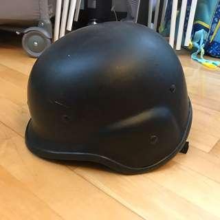 Mid-force 黑色野戰頭盔 Black War Game Helmet