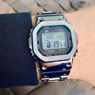 Casio G-Shock GMW-B5000 (Metal Bracelet)