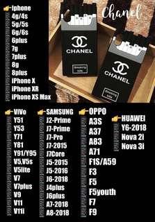 Chanel Cigarette Silicon Case