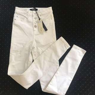 Ever New High Waist Ankle Gazer Heidi Pants/Jeans