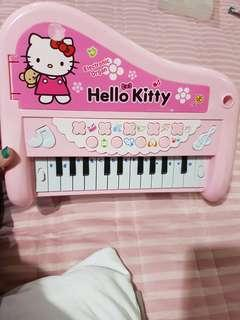 Mainan anak Piano hello kitty