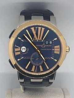 🚚 Ulysse Nardin Limited Edition Executive Dual Time