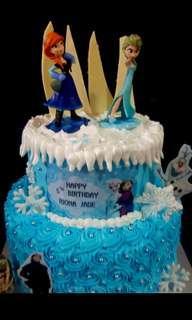 🚚 Frozen theme cake