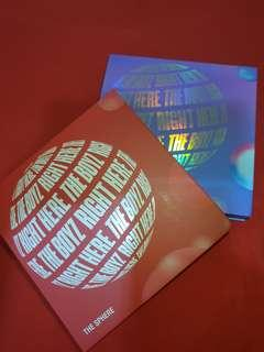 [WTS] THE BOYZ 1st Single Album THE SPHERE , REAL+DREAM SET