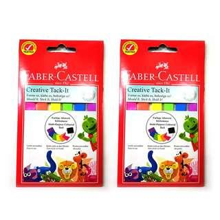 [2 SETS] Faber-Castell Tack IT 50gsm - ASSORTED COLOUR