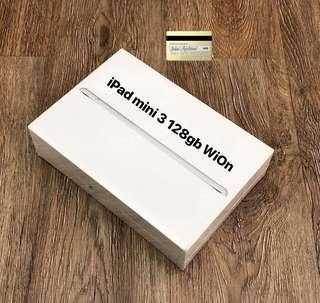 Ipad mini 3 128gb silver wifi only ibox