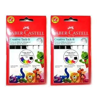 [2 SETS] Faber-Castell Tack IT 50gsm - BLACK & WHITE