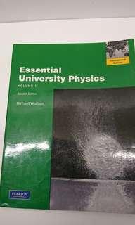 🚚 普物用書 Essential University Physics