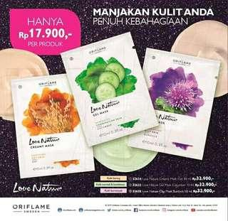 Love Nature Face Mask