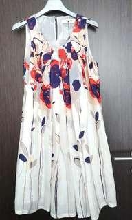 Anthropologie flower dress