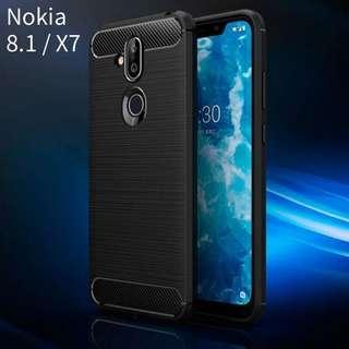 諾基亞Nokia 8.1 / X7手機軟殼套 case