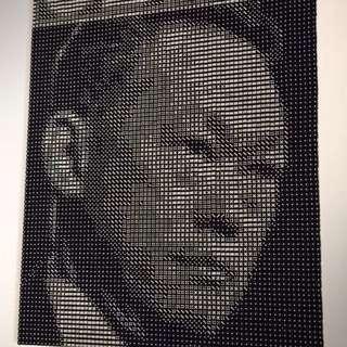 Dice Framed Portrait