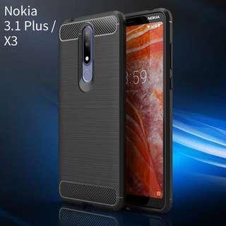 諾基亞Nokia 3.1 Plus / X3手機軟殼套 case
