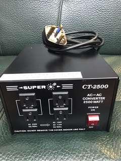 變壓器 Voltage Transformer Super CT-2500