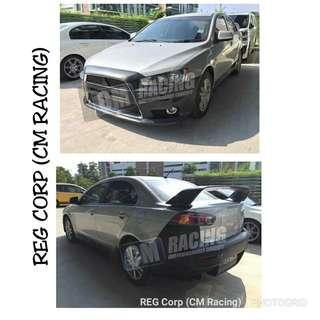 Mitsubishi Lancer Evo 10 Convert Bodykit