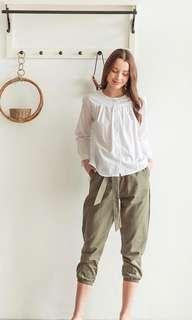 White top blouse Thisisapril