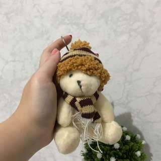 gantungan kunci boneka bear