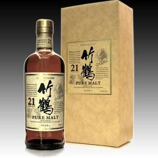 日本威士忌 Taketsuru 21Y Whisky 竹鶴 21年