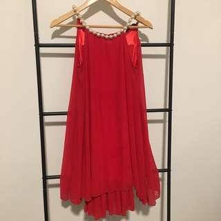 Red Pearl Dress