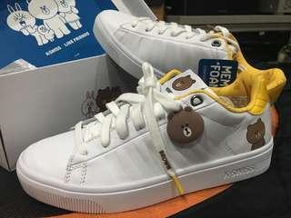 K-Swiss Line Friends sneakers shoe (Limited Edition)