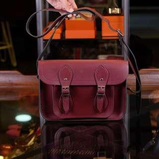 Reprice Cambridge Satchel Company 11 Inch Satchel In Oxblood from 1.6jt