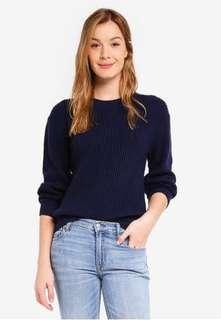 🚚 GAP shaker stitch crewneck pullover sweater
