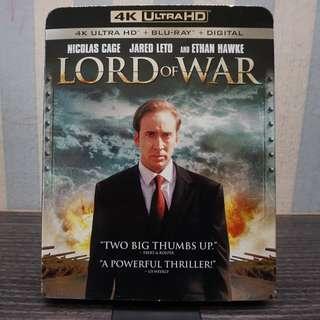 Lord Of War 4k Ultra HD Blu-ray