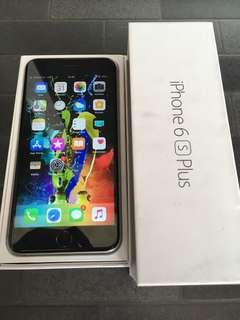 iPhone 6s plus 16gb retak dikit