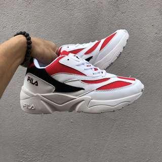🚚 FILA Red Venom Shoe