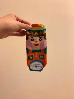 韓國制 卡通短襪