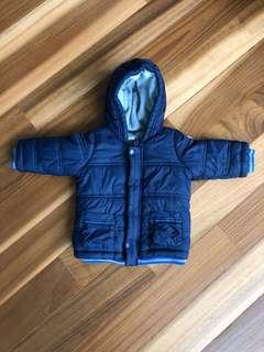 🚚 Baby Winter Jacket - Benetton (6-9Months)