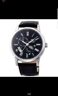 Orient Sun & Moon Automatic Japan Made SAK00004B Men's Watch ..
