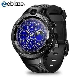 Zeblaze THOR 4 GPS Dual 4G LTE Video Call 5.0+5.0MP Dual Camera Smartwatch Voice Search Google Play-App Smart Watch Phone Men