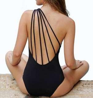 🚚 One-piece Swimsuit Black