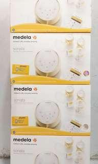 medela sonata smart breast pump set