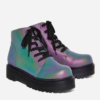YRU slayr reflective boots