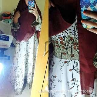 Syari gamis hijab