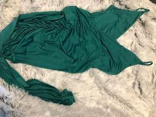 Tiger mist green dress