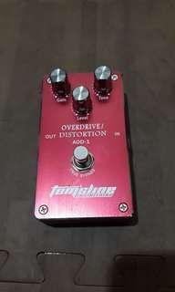 Overdrive/ Distortion Tom'sline 99% like new