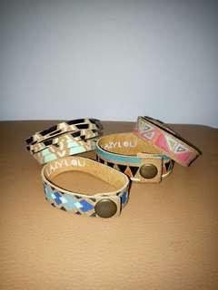 Gelang tribal / gelang klip / tribal bracelets